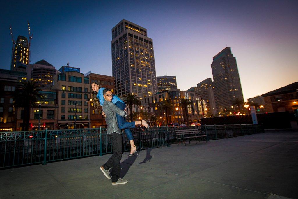 Ramrakhyani Engagement - San Francisco, Calif.
